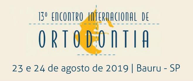 13º Encontro Internacional de Ortodontia – HRAC/FUNBEO/USP