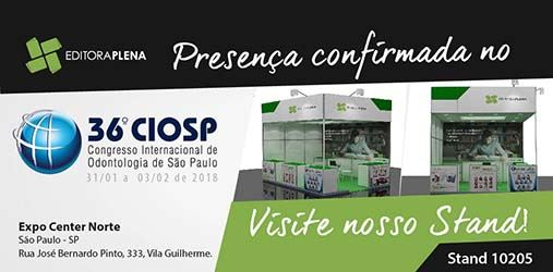 36º CIOSP – Editora Plena estará presente
