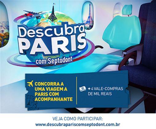 Promoção: Descubra Paris com Septodont !!!