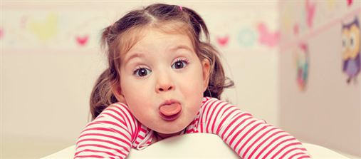 Bactérias mais presentes na boca de crianças