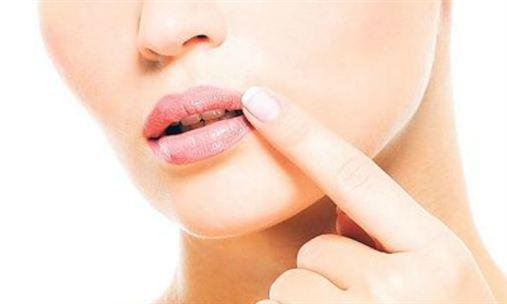 Incidência da herpes bucal