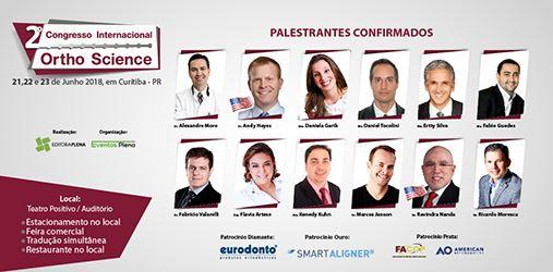 Vem aí o 2º Congresso Internacional Ortho Science !!!