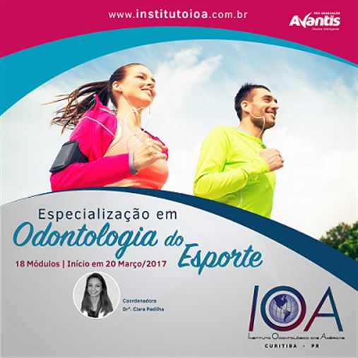 Especialização em Odontologia do Esporte
