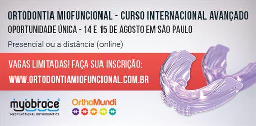 Curso Internacional Avançado de Ortodontia Miofuncional – Curso presencial e a distância