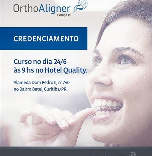Credenciamento OrthoAligner – Curitiba 24/06/17