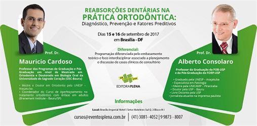 Editora Plena promove curso com Dr. Alberto Consolaro e Dr. Mauricio Cardoso