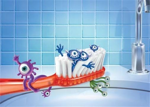 Escovas de dentes podem acumular bactérias prejudiciais à saúde em apenas dois meses
